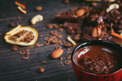 Chocolates background. Stock Images