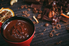Chocolates background. Royalty Free Stock Photo