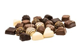 Chocolates belgas imagem de stock