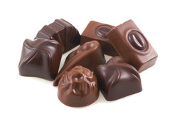 Chocolates belgas. Foto de archivo
