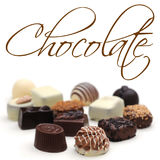 Chocolates royalty free stock photography