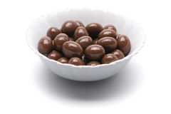 Chocolates in Bowl Stock Image
