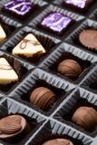 Chocolates box Royalty Free Stock Photos