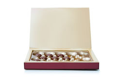 Chocolates box Stock Photo