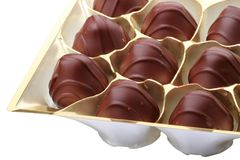 Chocolates candy in the package Stock Photography