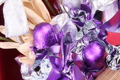 Chocolates caseiros foto de stock