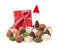 Chocolates for Christmas Stock Image