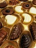 Chocolates clasificados Fotografía de archivo libre de regalías