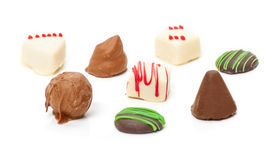 Chocolates, Confection,truffles Stock Images