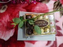 Chocolates de Ferrero Imagen de archivo