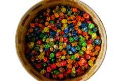 Chocolates de la fiesta de cumpleaños Imagen de archivo
