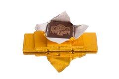Chocolates de lujo Foto de archivo