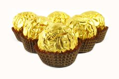 Chocolates de lujo Fotos de archivo