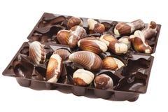 Chocolates del surtido Imagen de archivo libre de regalías