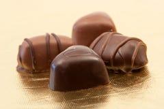 Chocolates deliciosos Fotos de Stock