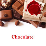 Chocolates. Royalty Free Stock Photography
