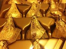 Chocolates do beijo de Hershey Foto de Stock