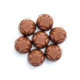 Chocolates formation Stock Image