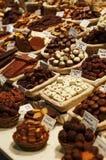 Chocolates gastrónomos imagenes de archivo