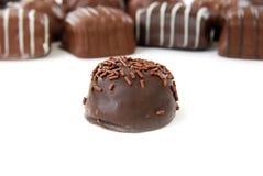 Chocolates gastrónomos fotografía de archivo