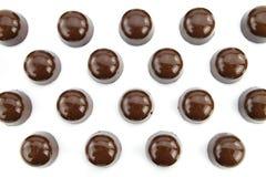 Chocolates gastrónomos fotografía de archivo libre de regalías
