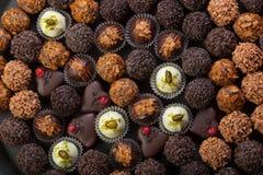 Chocolates Handmade Foto de Stock Royalty Free