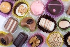 Chocolates lujosos Foto de archivo libre de regalías