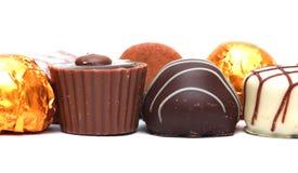 Chocolates mezclados imagen de archivo libre de regalías