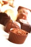 Chocolates misturados Fotos de Stock Royalty Free