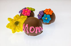 Chocolates for mom Stock Image
