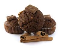 Chocolates muffins Stock Photo