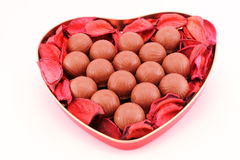 Chocolates for san valentine Stock Image