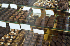 Chocolates shop Stock Photography