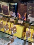 Chocolates in a shop