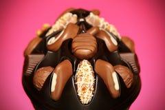 Chocolates suizos Imágenes de archivo libres de regalías