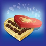 Chocolates sweets Stock Images