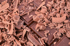 Chocolates. Tasty chocolate as background closeup Royalty Free Stock Images