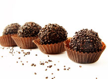 Chocolates,truffles Royalty Free Stock Photography