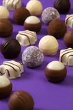 Chocolates and truffles Royalty Free Stock Photography