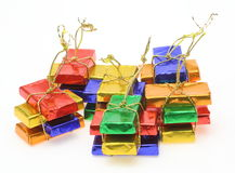 Chocolates which were wrapped in paper Royalty Free Stock Image