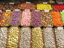 Chocolates y dulces Fotografía de archivo libre de regalías
