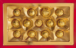 Chocolates for you Royalty Free Stock Photos