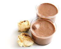 Chocolatmousse Stock Foto