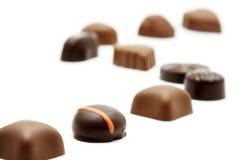Chocolats photographie stock libre de droits