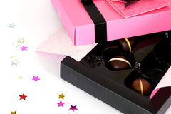 Chocolats photo stock