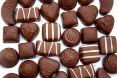 Chocolats Photos stock