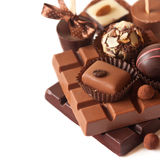Chocolats. photographie stock libre de droits