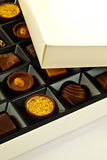 Chocolats Image stock