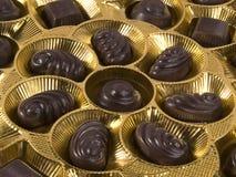 Chocolats assortis Photographie stock
