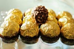 Chocolats d'écrous de Hazal Images libres de droits